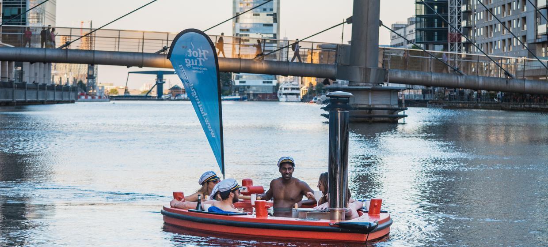 Hot Tub Boat Experience 9