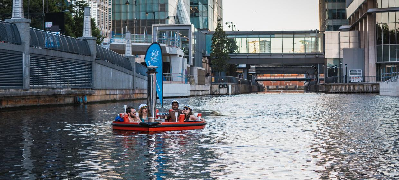 Hot Tub Boat Experience 11