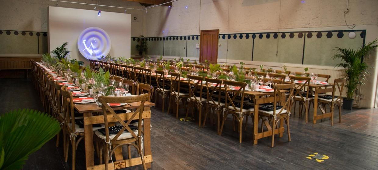 Bespoke event space in historic building  9