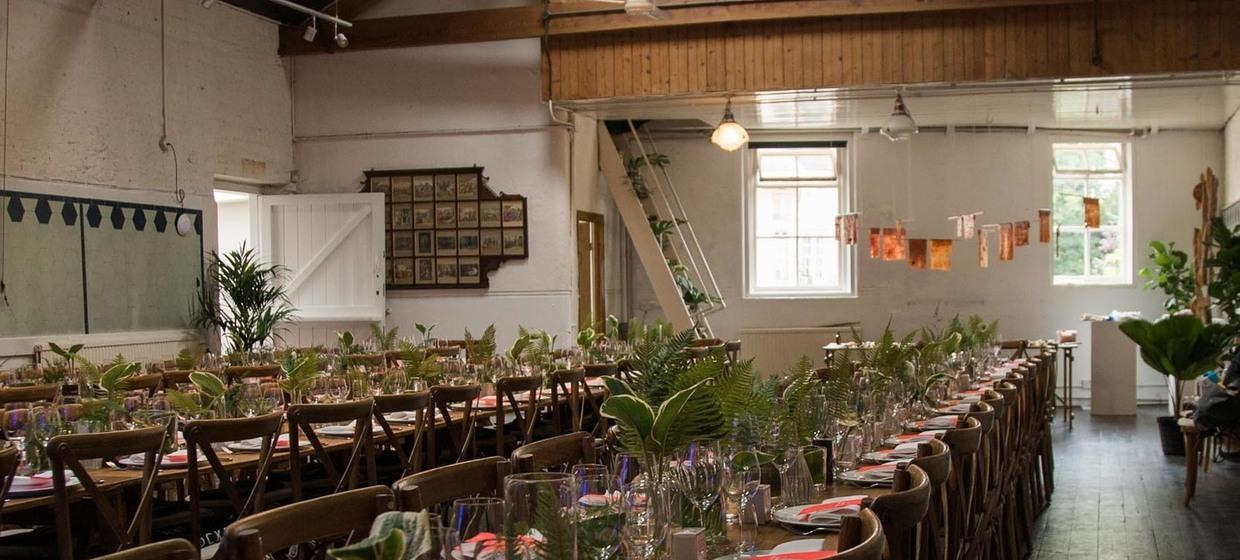 Bespoke event space in historic building  10