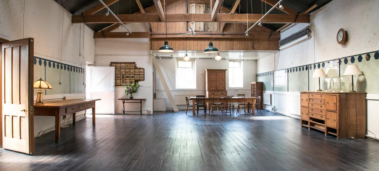 Bespoke event space in historic building  1