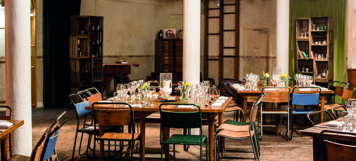 Stunning converted warehouse event space  10