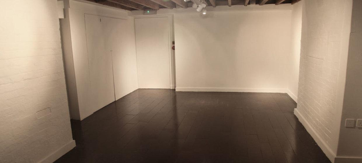 A beautiful blank canvas space with shop window  6