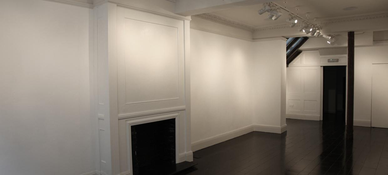 A beautiful blank canvas space with shop window  24