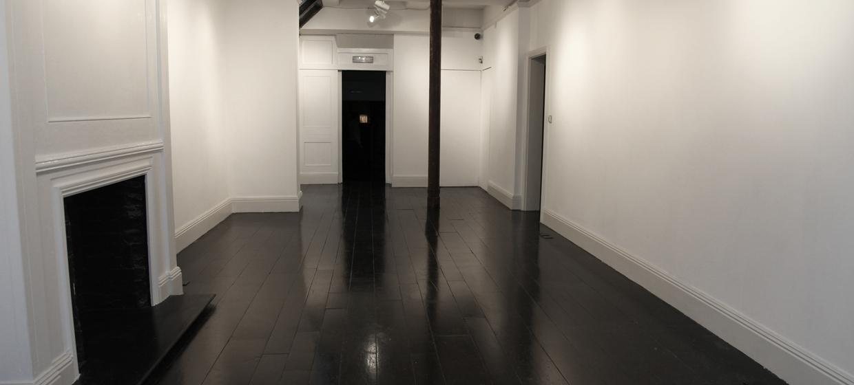 A beautiful blank canvas space with shop window  1