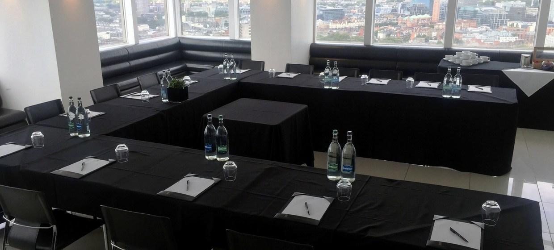 Contemporary venue with 360 degree skyline views 5