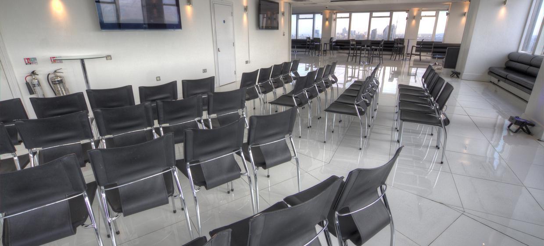 Contemporary venue with 360 degree skyline views 6