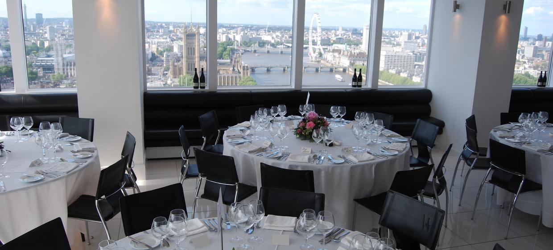 Contemporary venue with 360 degree skyline views 1