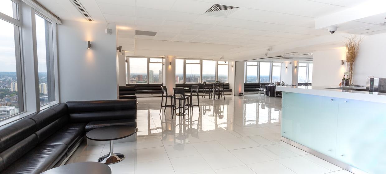 Contemporary venue with 360 degree skyline views 3