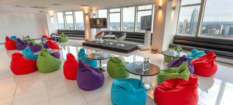 Contemporary venue with 360 degree skyline views 9