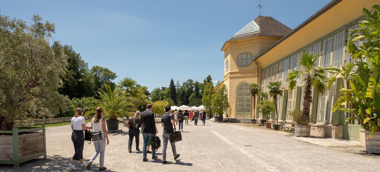 Orangerie im Schlosspark 1