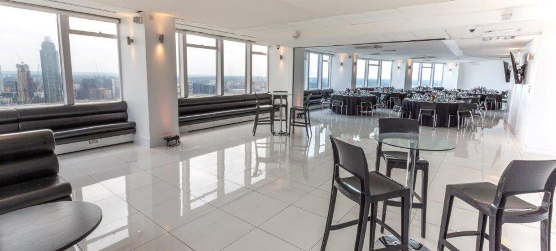 Contemporary venue with 360 degree skyline views 10