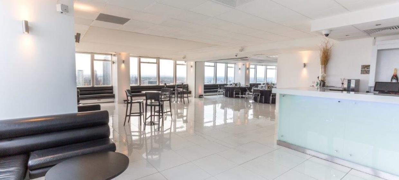 Contemporary venue with 360 degree skyline views 12