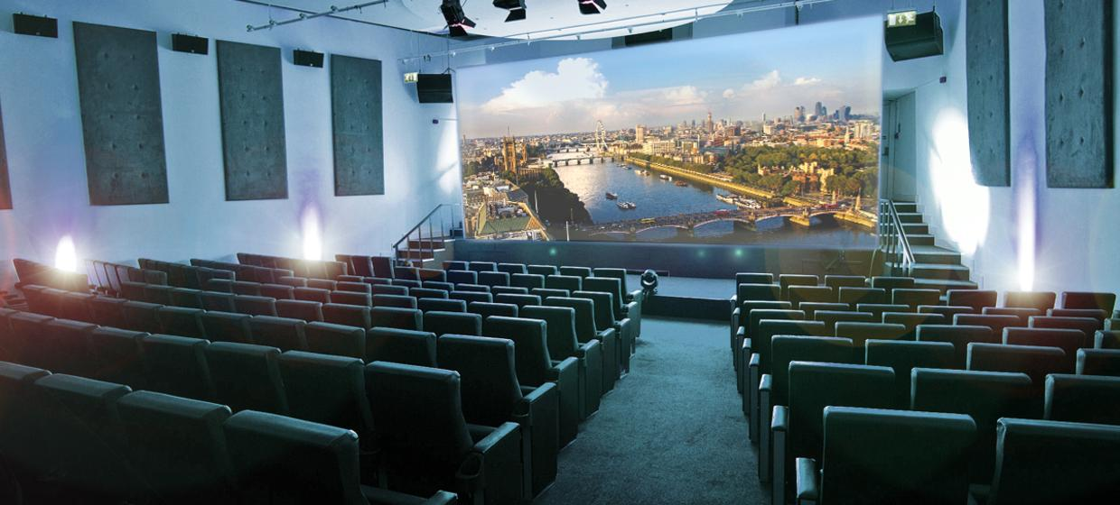A riverside venue with outside terrace and private auditorium 1