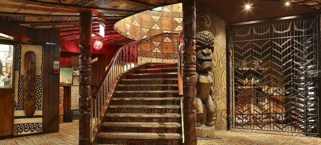 Vibrant Polynesian Bar with Private dining  4