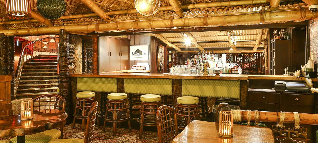 Vibrant Polynesian Bar with Private dining  3