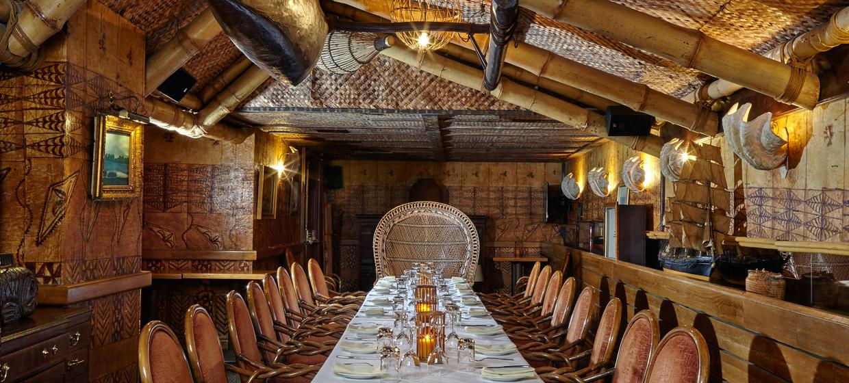 Vibrant Polynesian Bar with Private dining  1