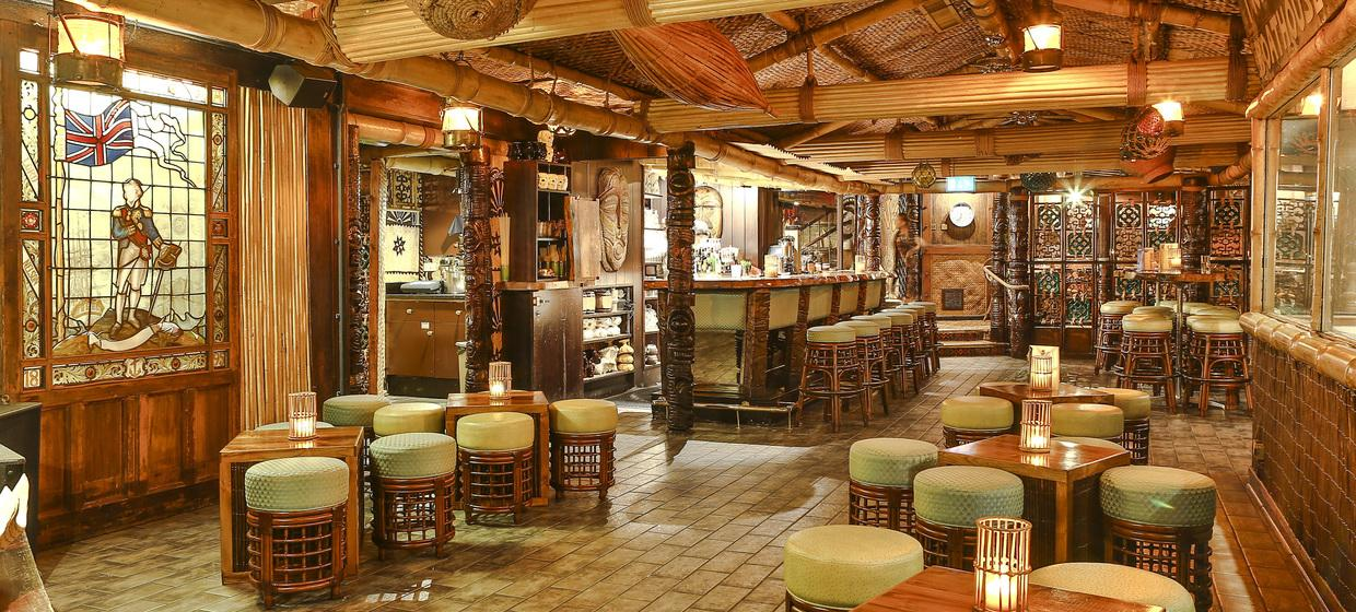 Vibrant Polynesian Bar with Private dining  2