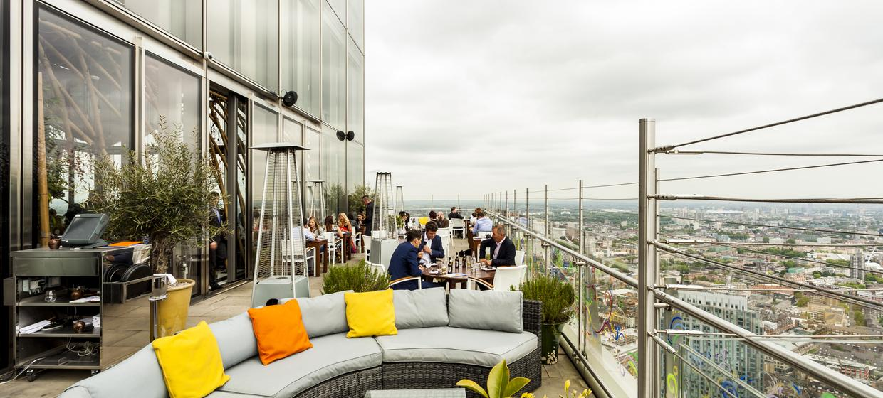 Europe's highest outdoor dining terraces 5