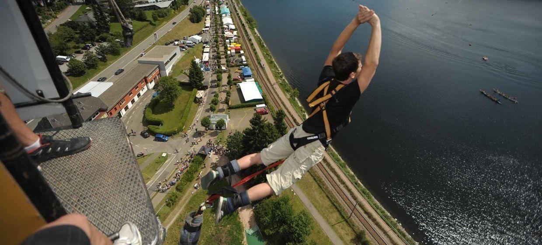 Bungee Jumping Duisburg 3