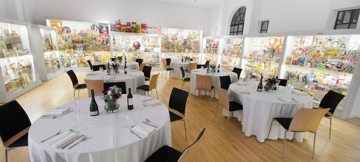 A selection of stimulating event spaces 1