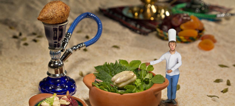 """Pop up Dinnershow """"Le Petit Chef - auf den Spuren Marco Polos"""" 2"""