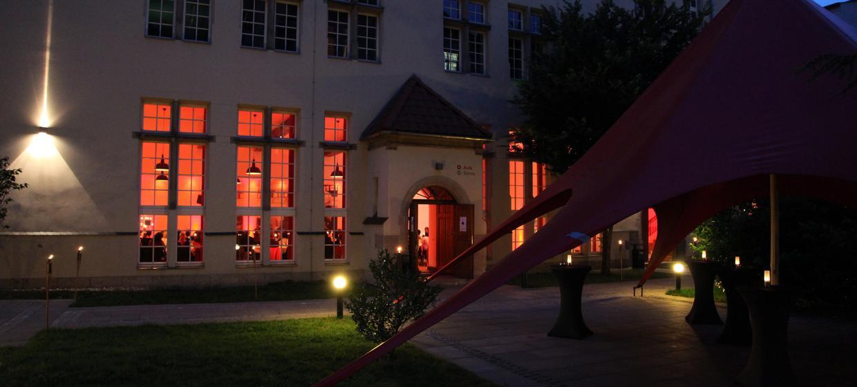 Hochzeiten & Privatfeiern Aula 6