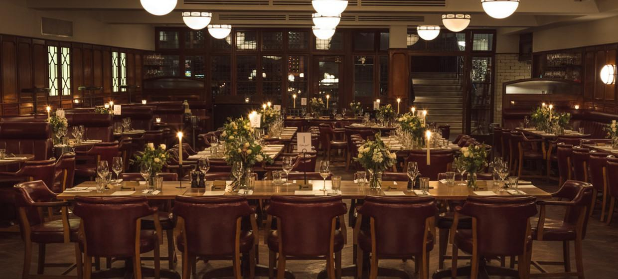 Elegant Restaurant with Private Dining  3