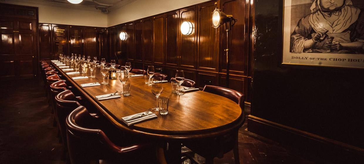 Elegant Restaurant with Private Dining  2