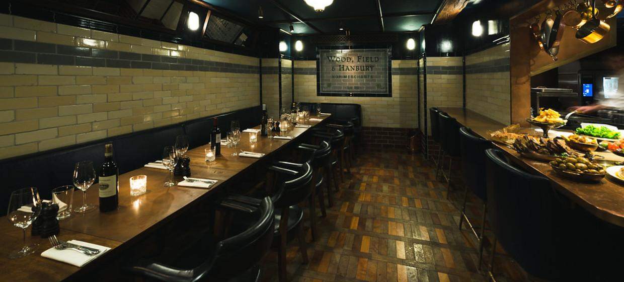 Private Cook's Room in Award Winning Restaurant  2