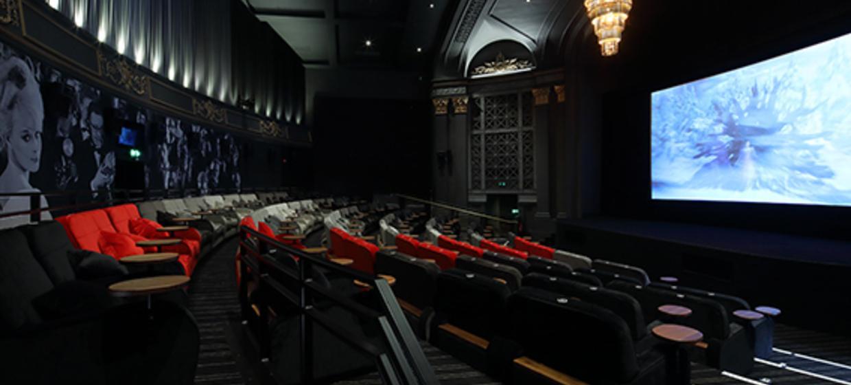 Restored Art Deco Cinema Space 1
