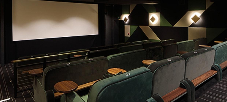 Restored Art Deco Cinema Space 5