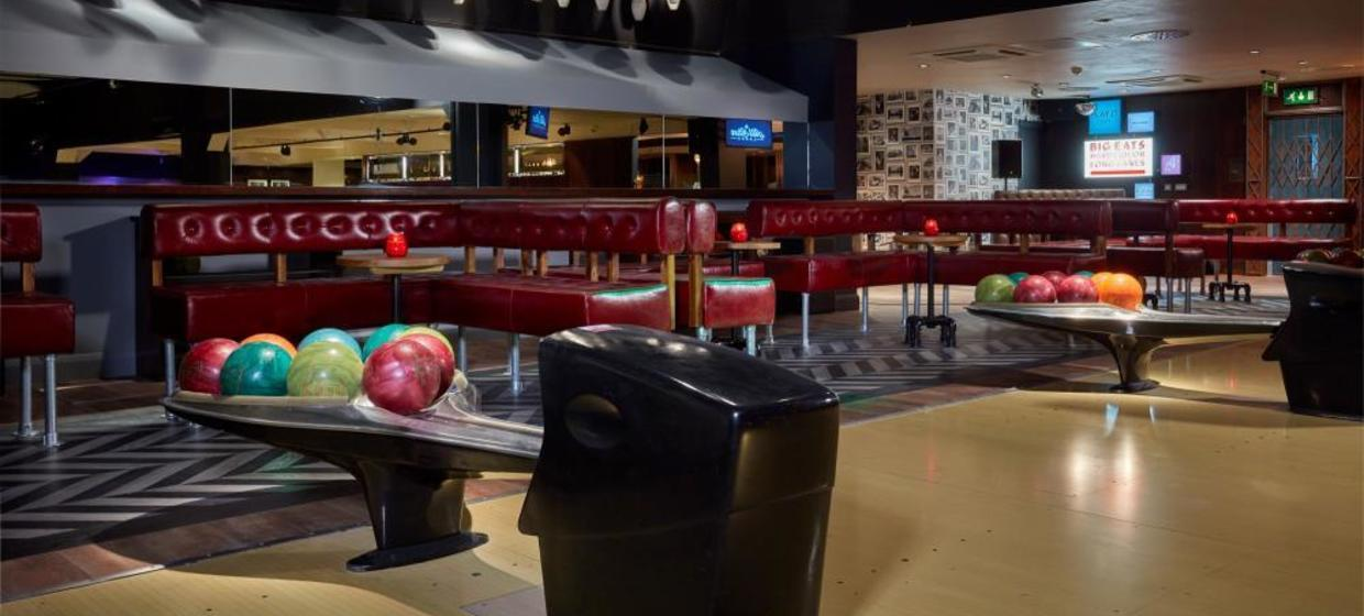 Party Venue with Private Boutique Bowling Room  1
