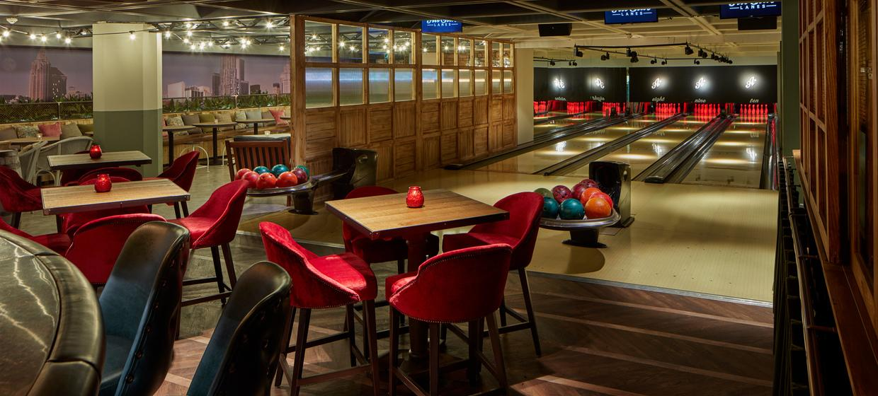 Party Venue with Private Boutique Bowling Room  7