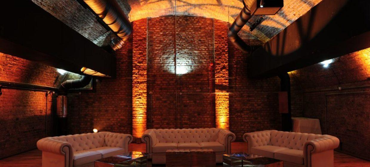 Refurbished Victorian Railway Arch Event Space 1