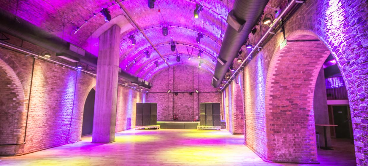 Refurbished Victorian Railway Arch Event Space 2