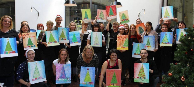 Ihre Weihnachtsfeier mit ArtNight 1