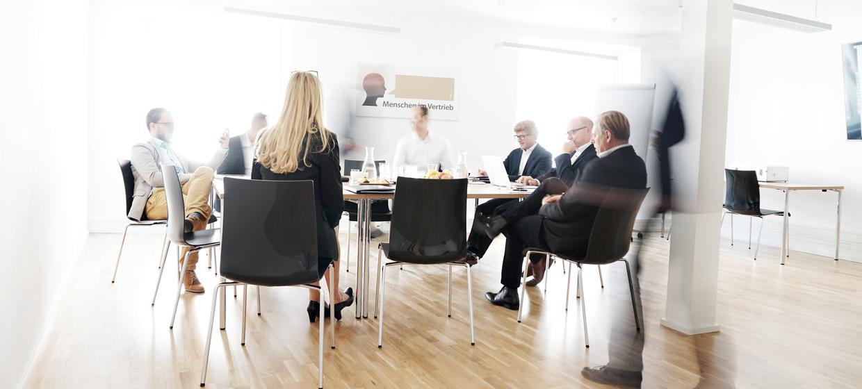 Menschen im Vertrieb Meetingräume 2