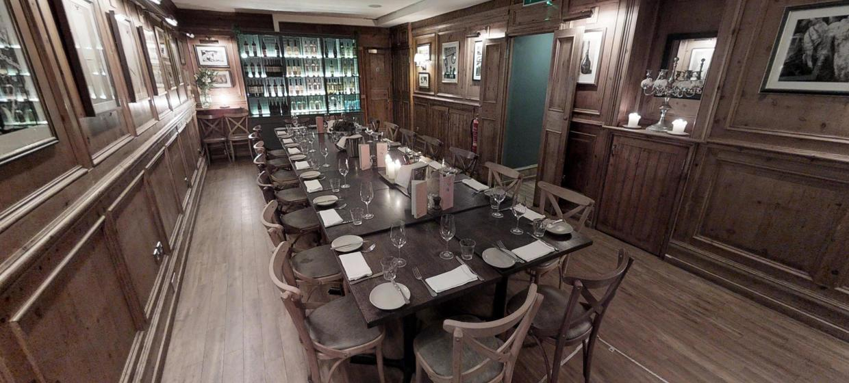 Intimate Restaurant with Private Dining Spaces 1