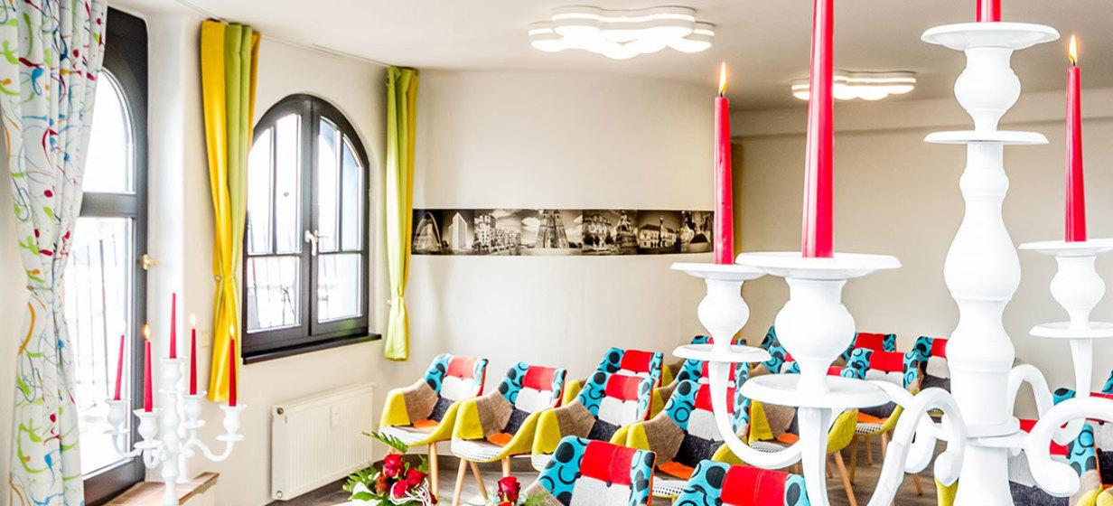 Skyroom im artHotel Magdeburg 5
