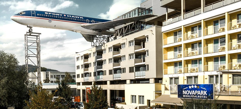 Novapark Flugzeughotel Graz 1