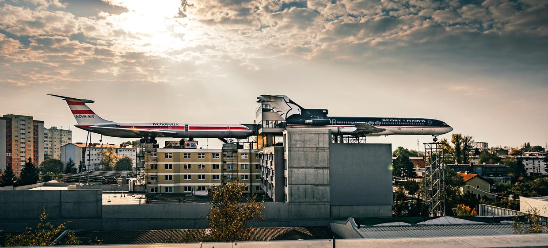 Novapark Flugzeughotel Graz 2