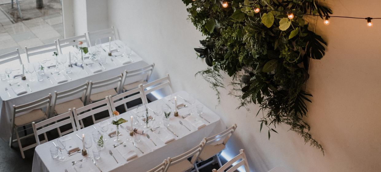 White Wedding Parties im ISLAND 1
