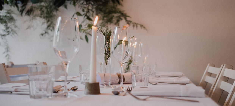 White Wedding Parties im ISLAND 3