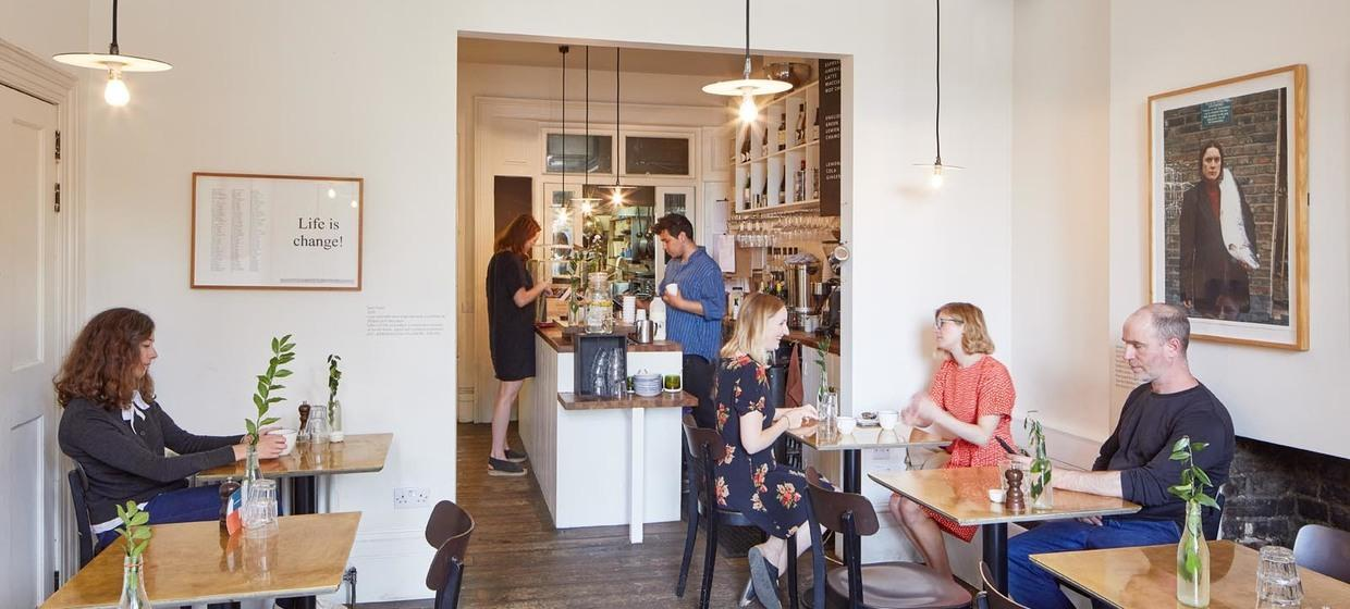 A Contemporary Restaurant-Cafe with Walled Garden 2