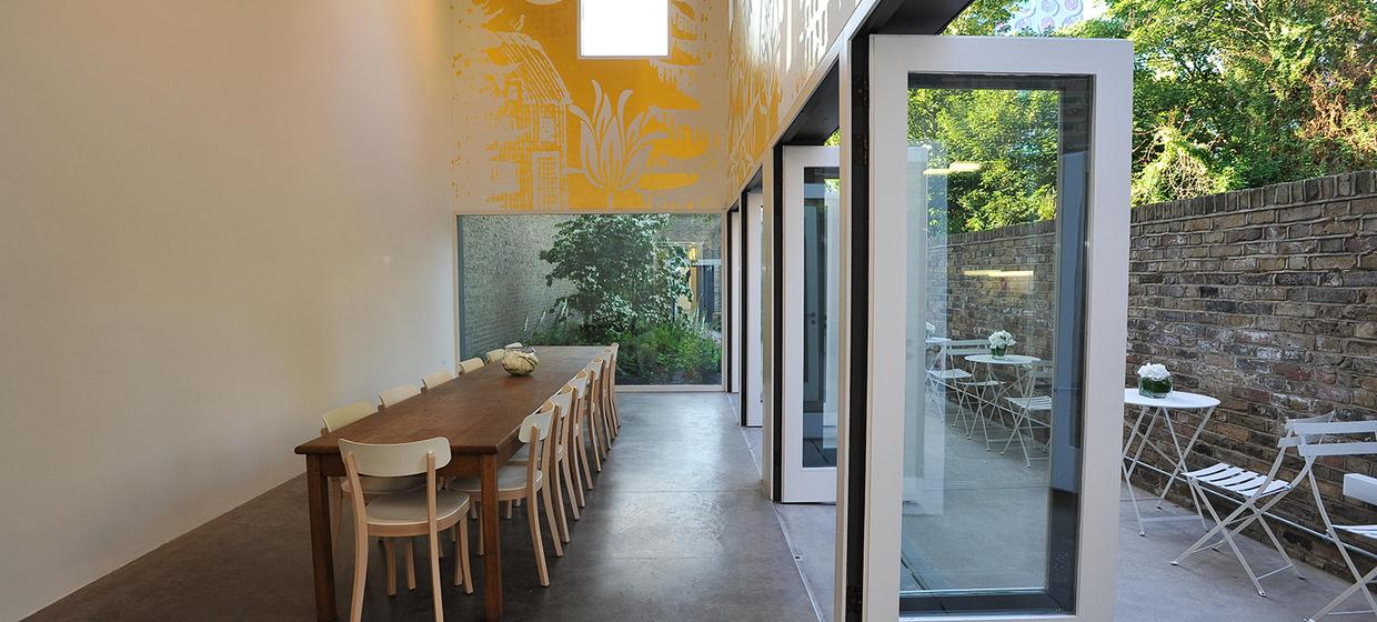 A Contemporary Restaurant-Cafe with Walled Garden 1