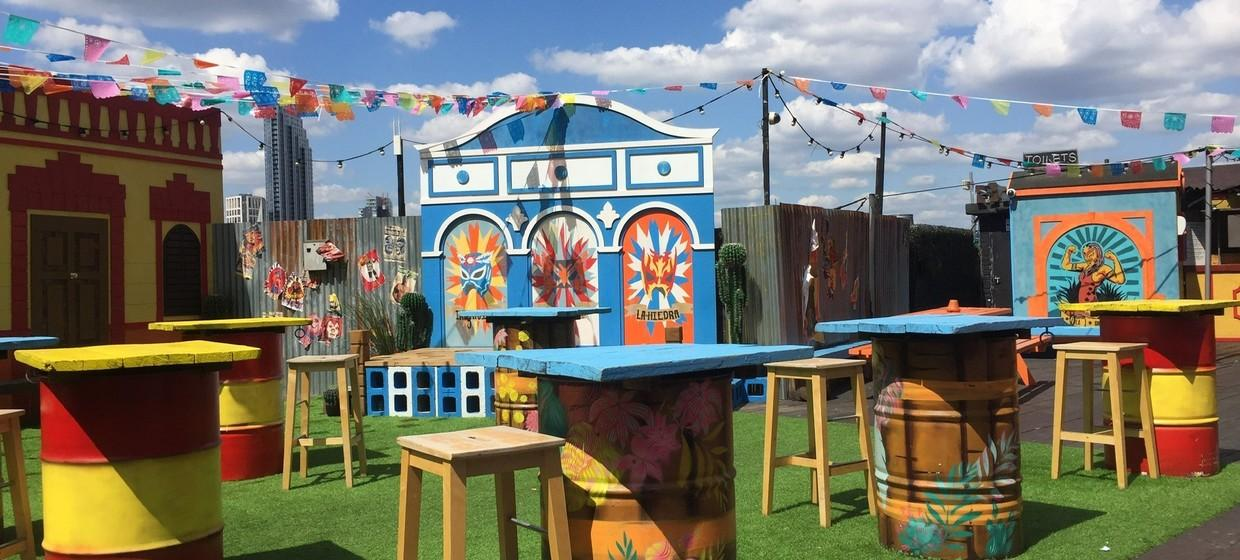 A Party Playground with a Rooftop  3
