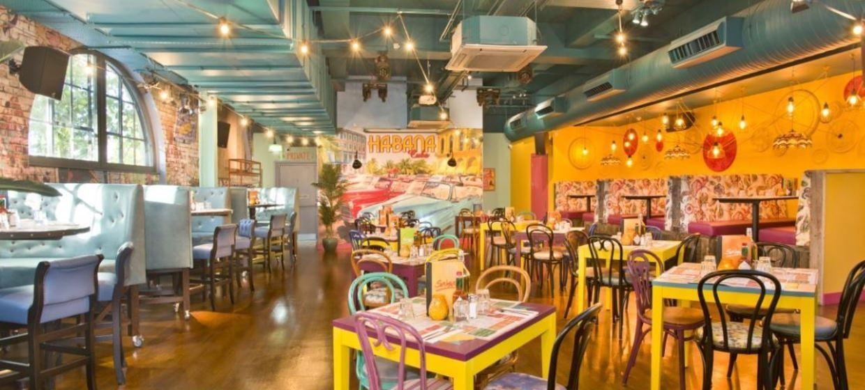 Industrial Style Latin Event Space 3