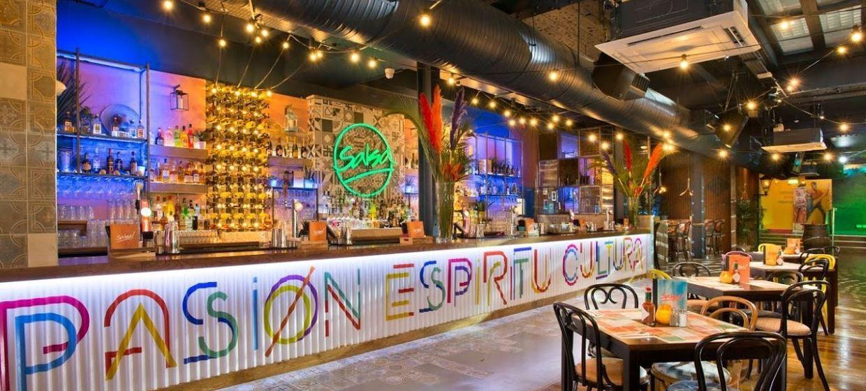 Industrial Style Latin Event Space 1