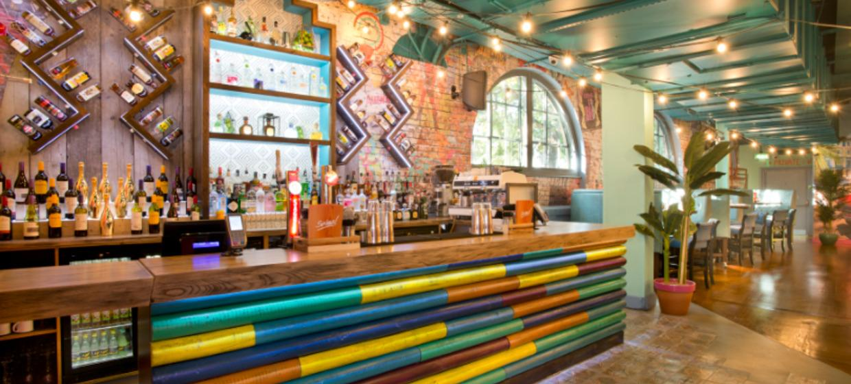 Industrial Style Latin Event Space 5